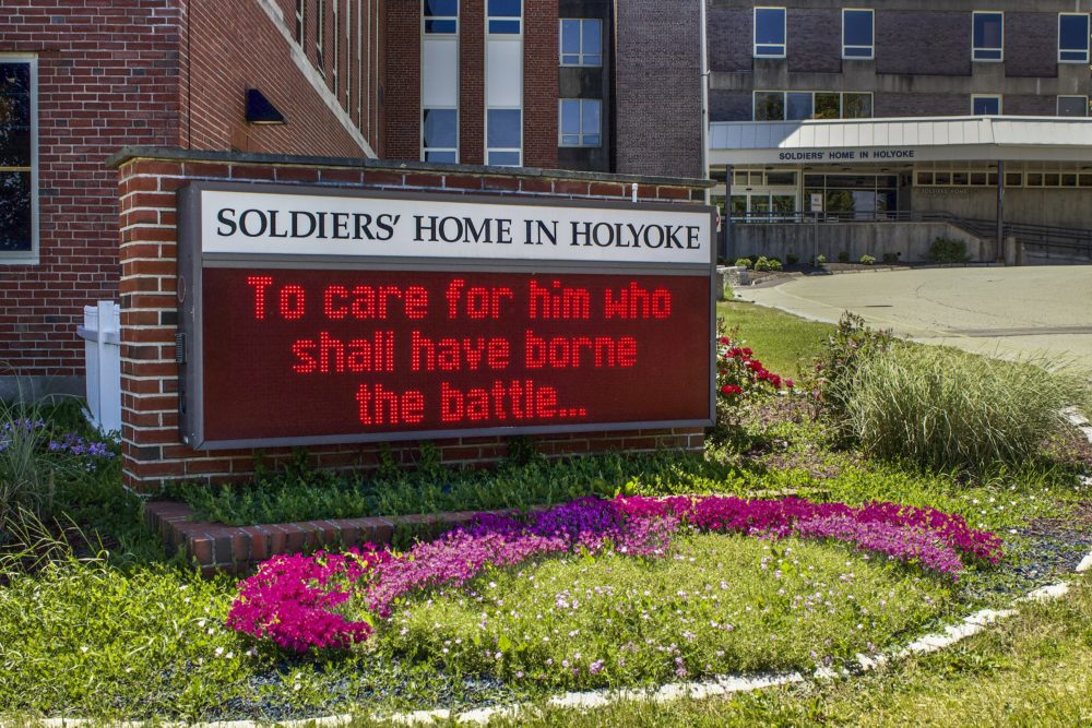 The Soldiers' Home in Holyoke. (Miriam Wasser/WBUR)
