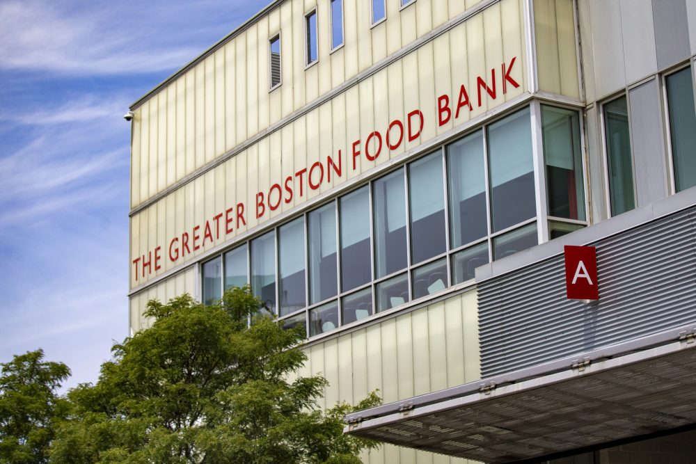 The Greater Boston Food Bank in Boston. (Jesse Costa/WBUR)
