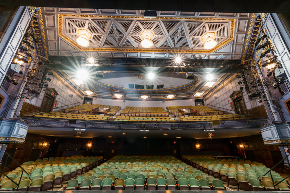 Interior of the Huntington Avenue Theatre. The city of Boston has created a fund for nonprofits to help them comply with social distancing orders. (Courtesy Nile Hawver/Nile Scott Shots)