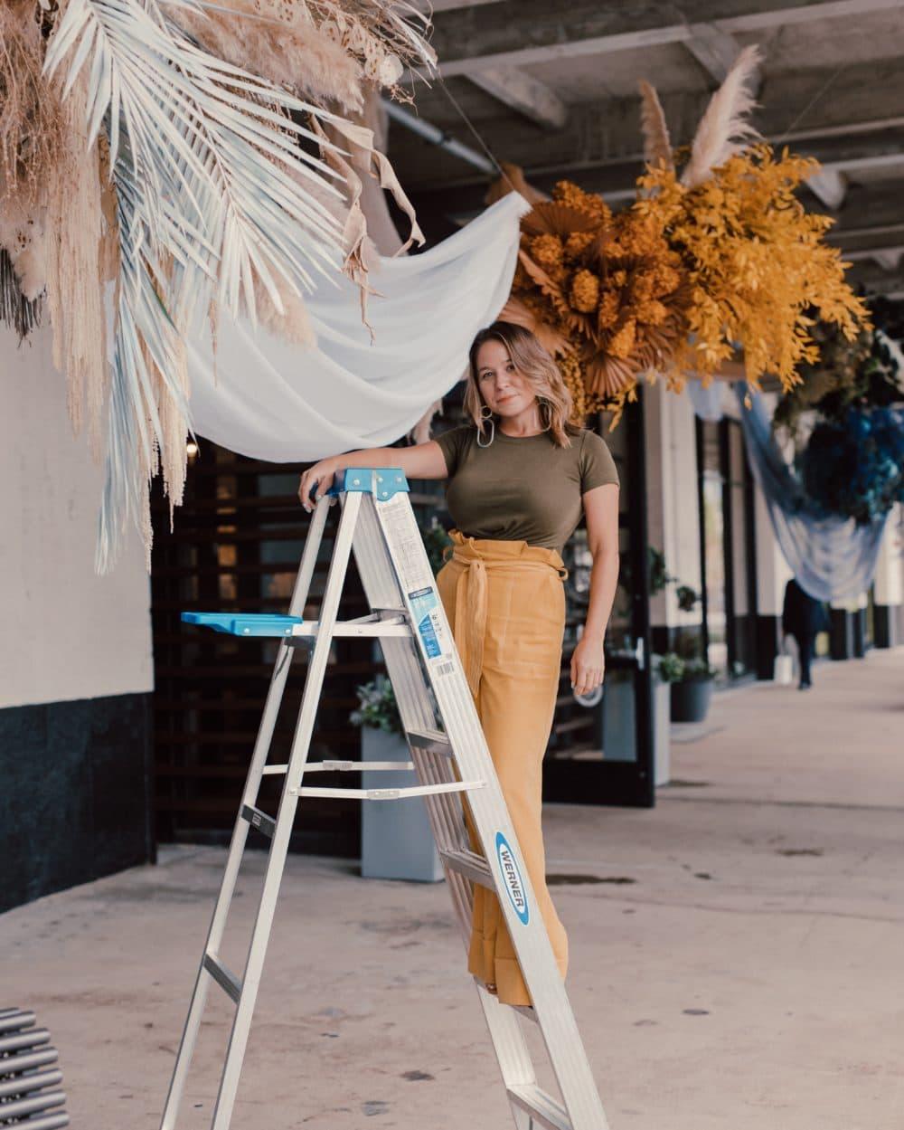 Le designer floral Krissy Price est propriétaire du Boston Pollen. (Avec la permission de Krissy Price)