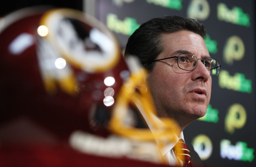 Washington owner Dan Snyder. (Manuel Balce Ceneta/AP)