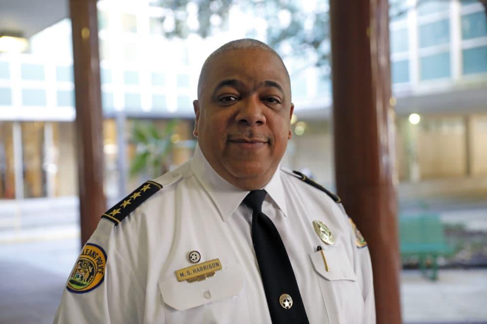 Baltimore Police Commissioner Michael Harrison. (Gerald Herbert/AP)