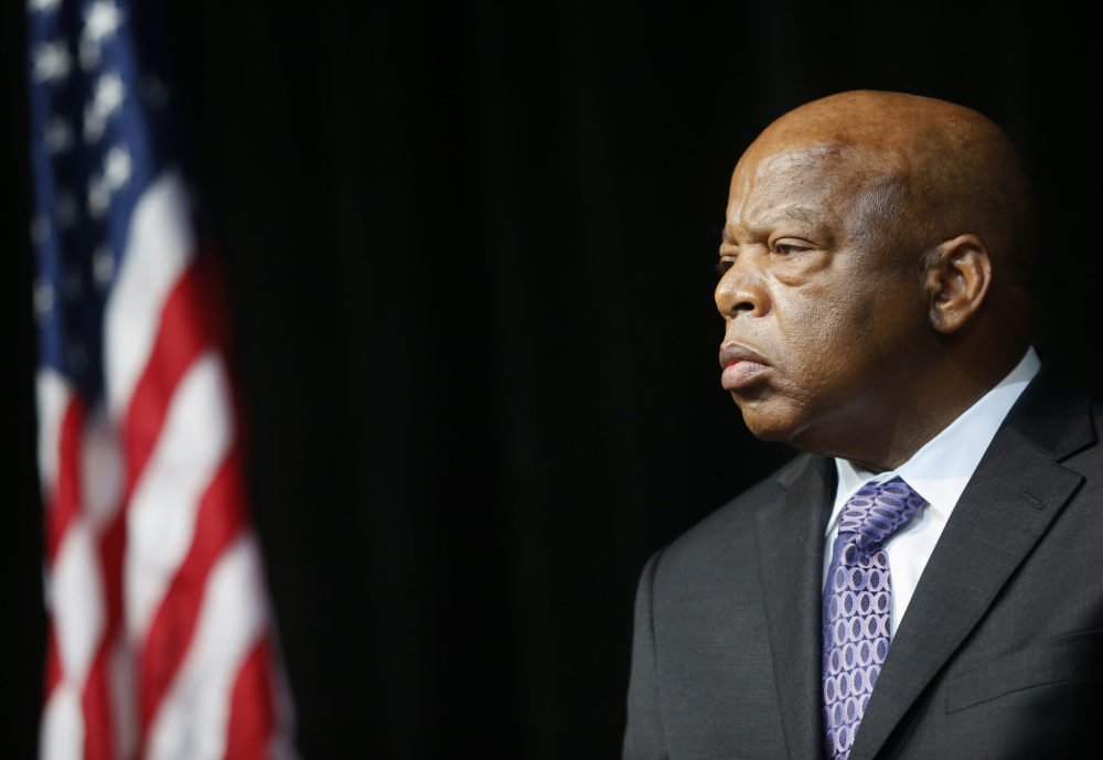 Civil rights activist Rep. John Lewis, D-Ga., in 2013. (Charles Dharapak/AP)