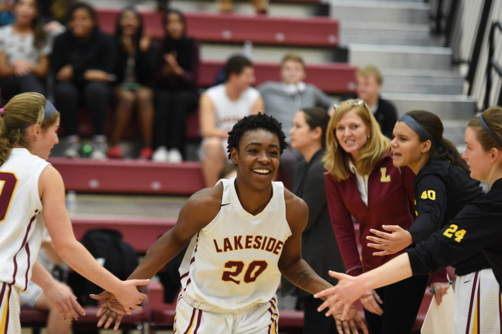 Kimijah King starred at Lakeside in Seattle. But now she's focused on something bigger than basketball. (Clayton Christy/Lakeside Athletics)
