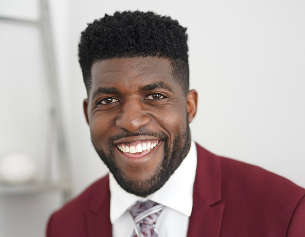 Former NFL linebacker Emmanuel Acho (Photo credit: 8 Degrees PR)