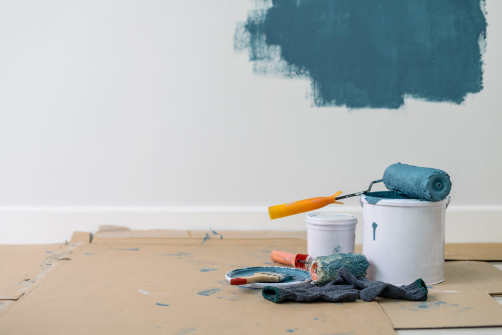 Being at home all the time has a lot of us thinking about home improvement projects. (Getty)