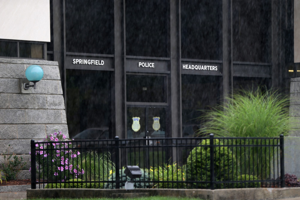 Springfield Police Headquarters (Photo by Jonathan Wiggs/The Boston Globe via Getty Images)