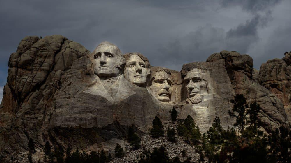 Mount Rushmore National Memorial in Keystone, South Dakota. (Kerem Yucel/AFP via Getty Images)