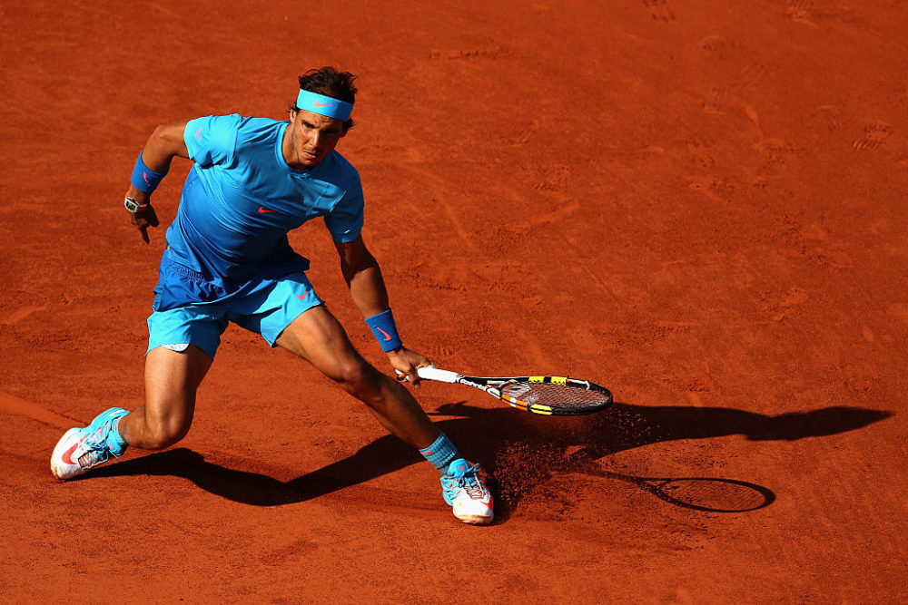 Rafael Nadal, winner of 12 French Opens, famously thrives on clay. (Clive Brunskill/Getty Images)