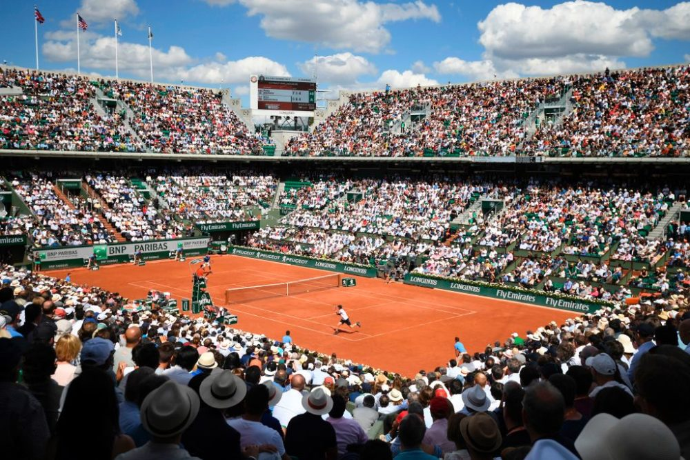 Poet and writer Rowan Ricardo Phillips uncovered a dark tale behind the origin of clay court tennis. (Eric Feferberg/AFP via Getty Images)