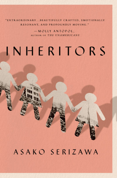 "The cover of Asako Serizawa's short story collection ""Inheritors."" (Courtesy Penguin Random House)"