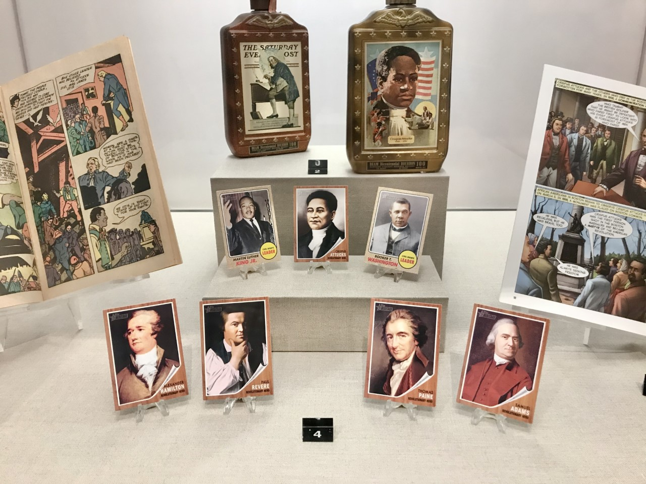 """Reflecting Attucks"" puts Crispus Attucks into perspective alongside other Founding Fathers of the American Revolution and then looks at how his legacy has been used for social and racial justice efforts in America. (Courtesy Revolutionary Spaces)"