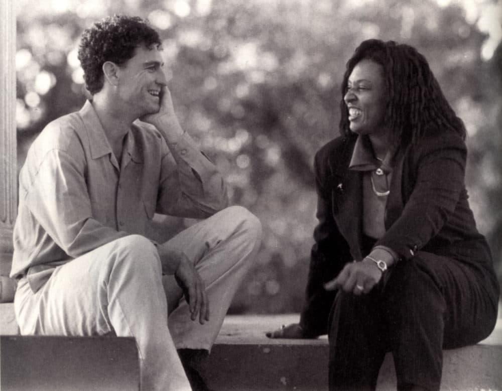 Edward Ball and Carolyn Goodson in Charleston, South Carolina. (Courtesy)