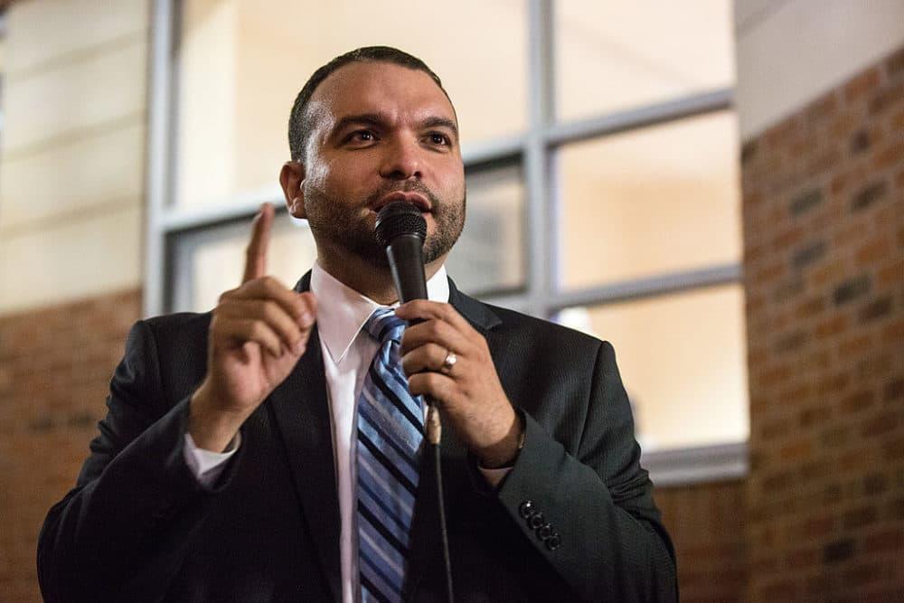 Felix Arroyo. (Photo by Aram Boghosian for The Boston Globe via Getty Images)