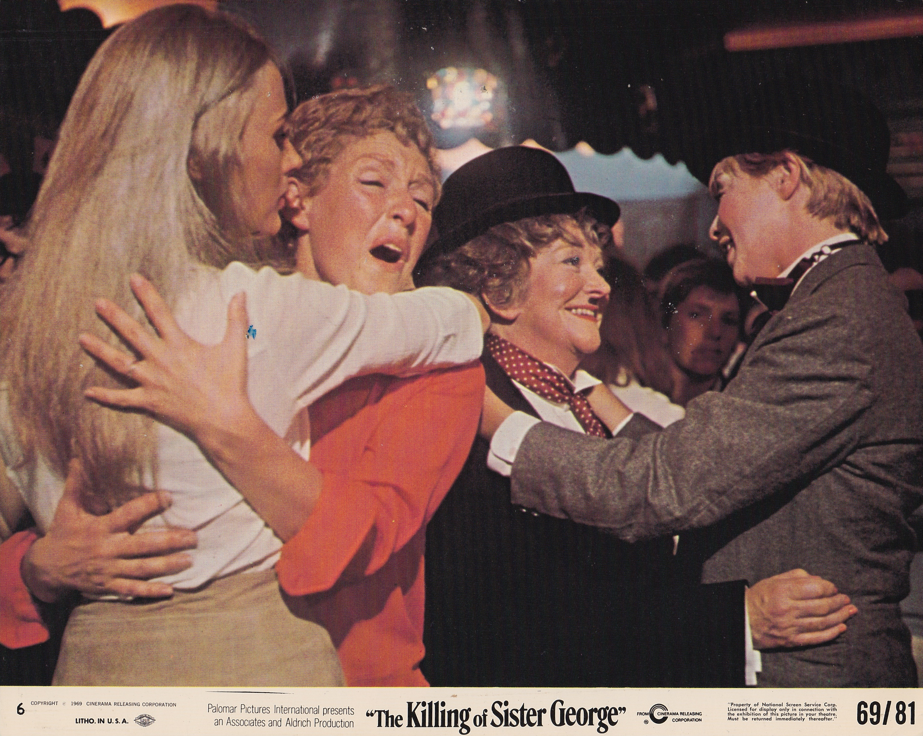"""A still from the 1968 film """"The Killing of Sister George,"""" included in Jenni Olson's documentary """"Homo Promo."""" (Courtesy Jenni Olson)"""