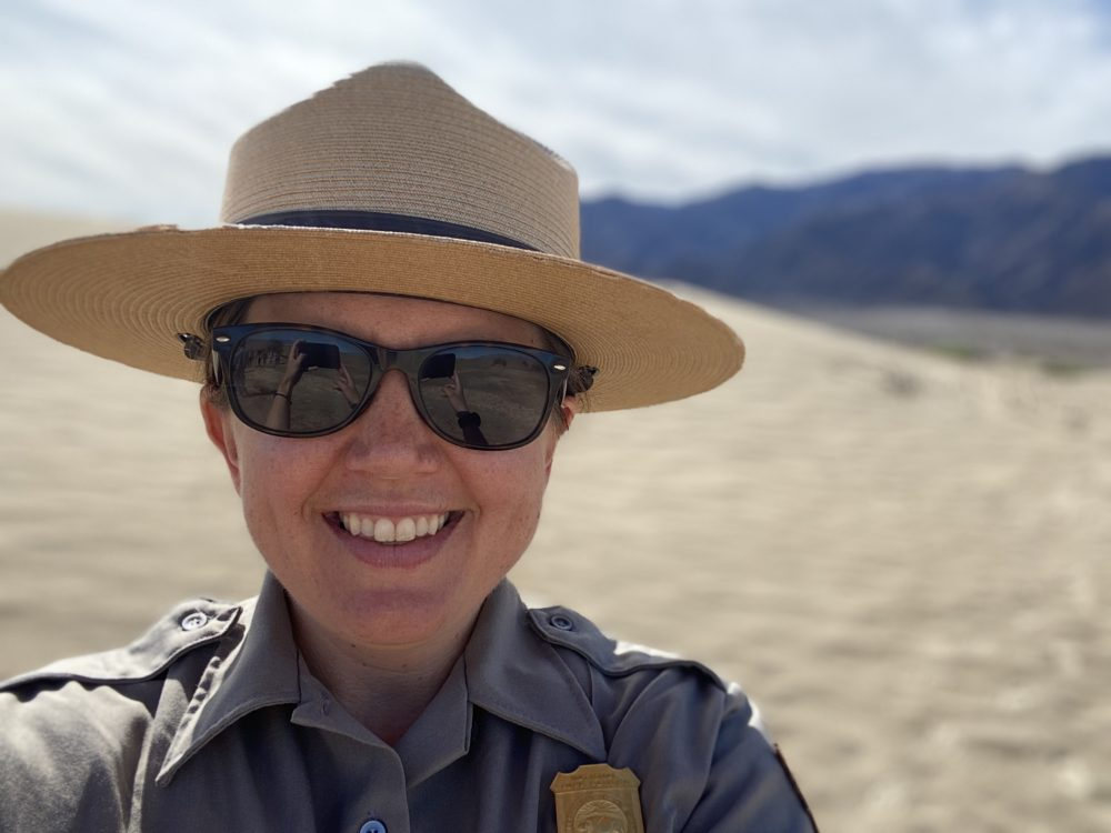 Brandi Stewart, education and program outreach manager at Death Valley National Park. (Courtesy)