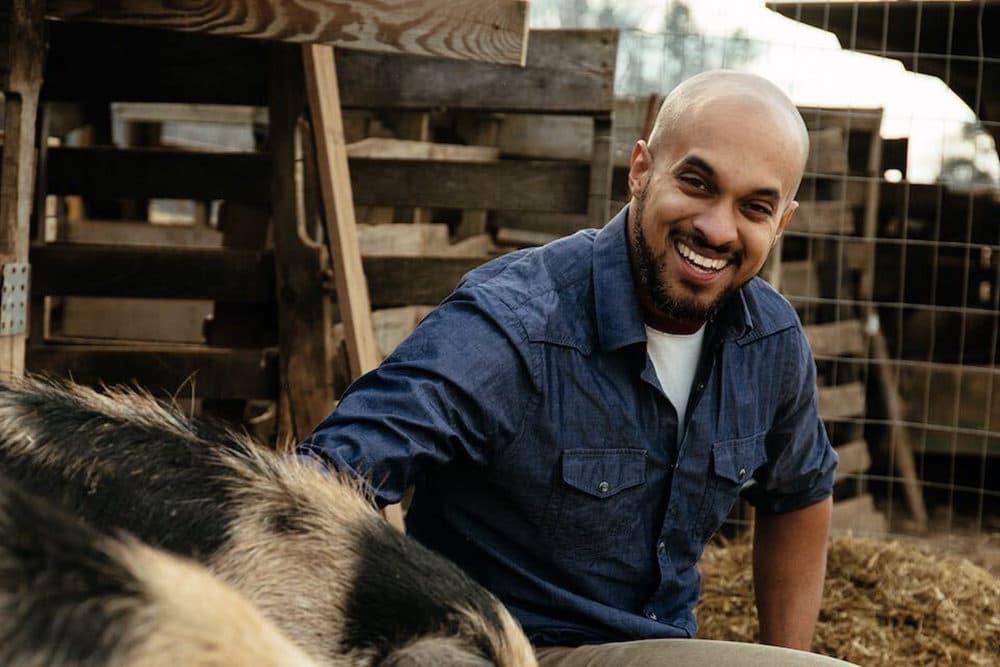 Chris Newman ofSylvanaqua Farms (Photo credit: Rush Jagoe)