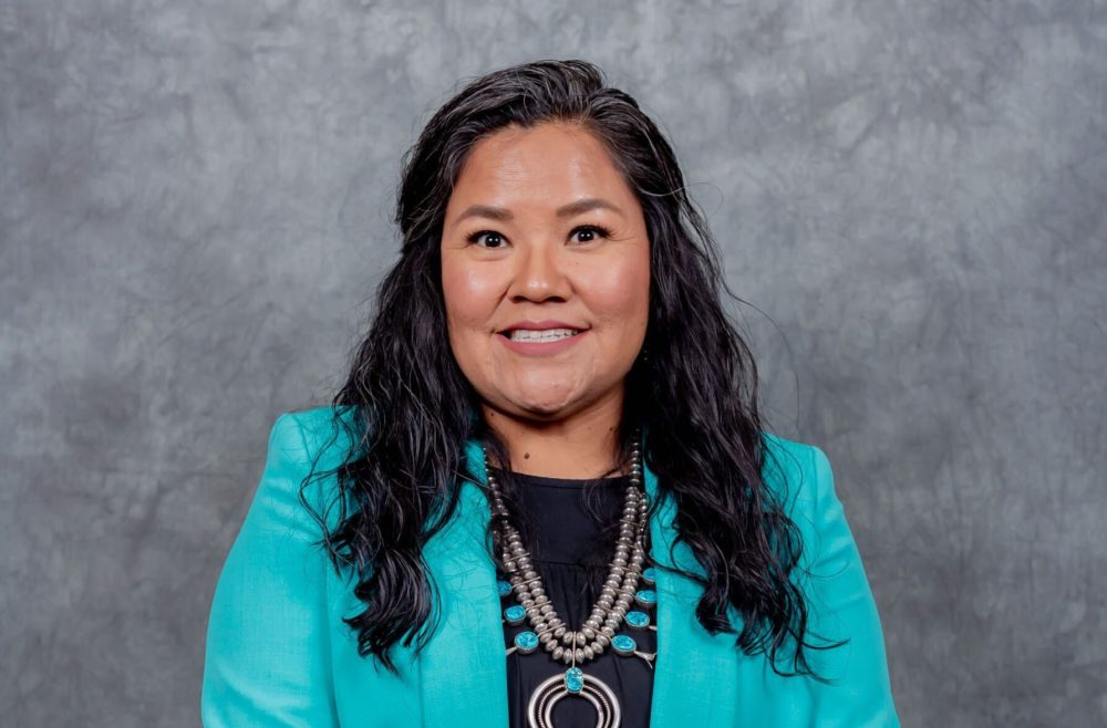 Shawna Becentiis head of schoolatNavajo PreparatorySchoolin Farmington, New Mexico. (Courtesy)