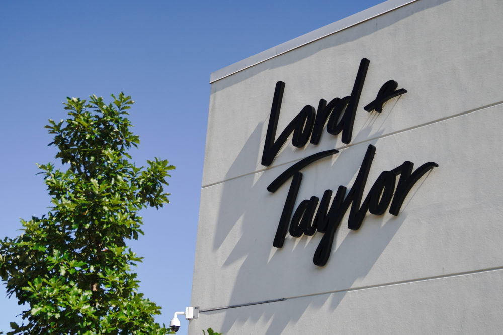 Lord & Taylor logo seen at one of their branches. (John Nacion/Getty Images)