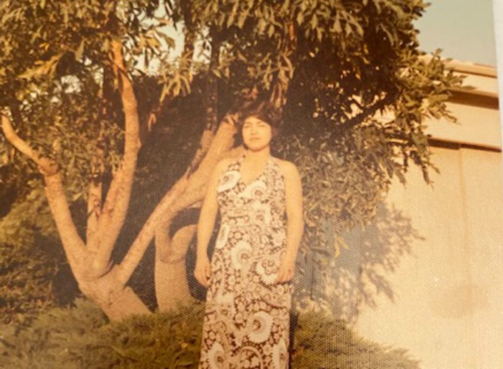 The author's mother in the 1970s. (Courtesy)
