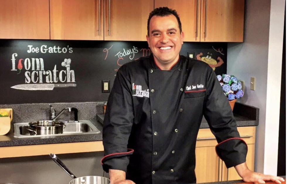 "Chef Joe Gatto, the host of ""From Scratch."" (Courtesy: Joe Gatto)"