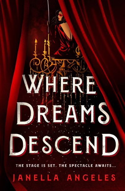 "The cover of Janella Angeles' debut novel ""Where Dreams Descend."" (Courtesy Wednesday Books)"