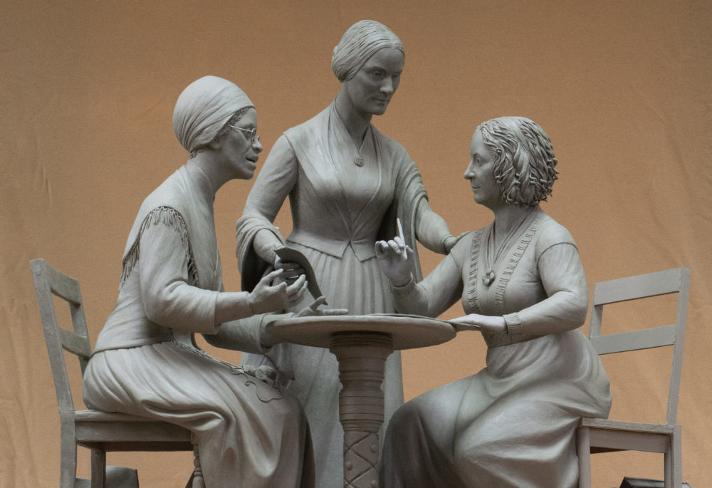 The first statue to honor women in New York's Central Park will feature Sojourner Truth, Susan B. Anthony and Elizabeth Cady Stanton. (Michael Bergmann)