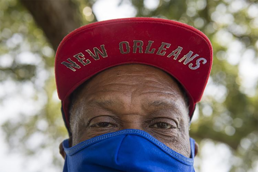 Robert Green lost his mother and one of his granddaughters in Hurricane Katrina when the storm swept their house off its foundation as they were on the roof. (Chris Granger/The Times-Picayune/The New Orleans Advocate)