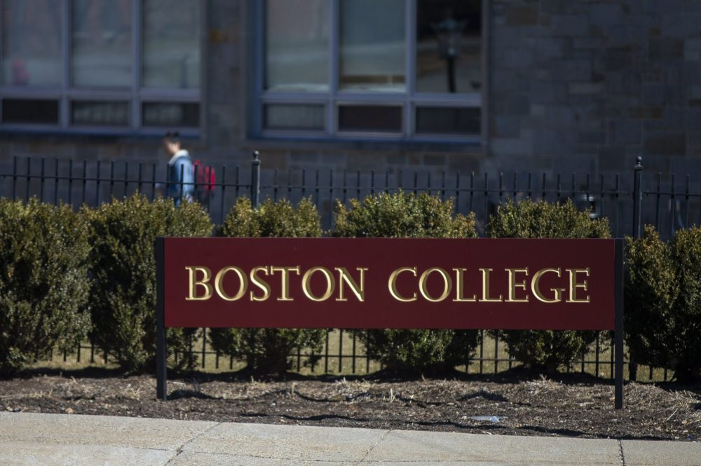 Boston College. (Jesse Costa/WBUR)