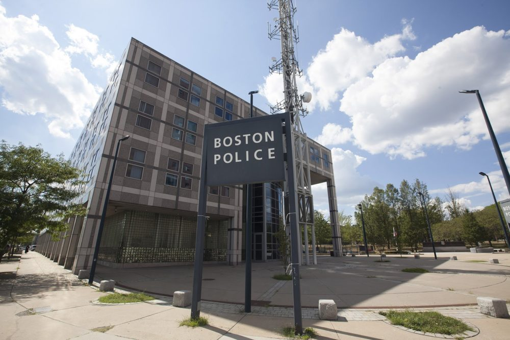 Boston Police headquarters. (Joe Difazio/WBUR file)
