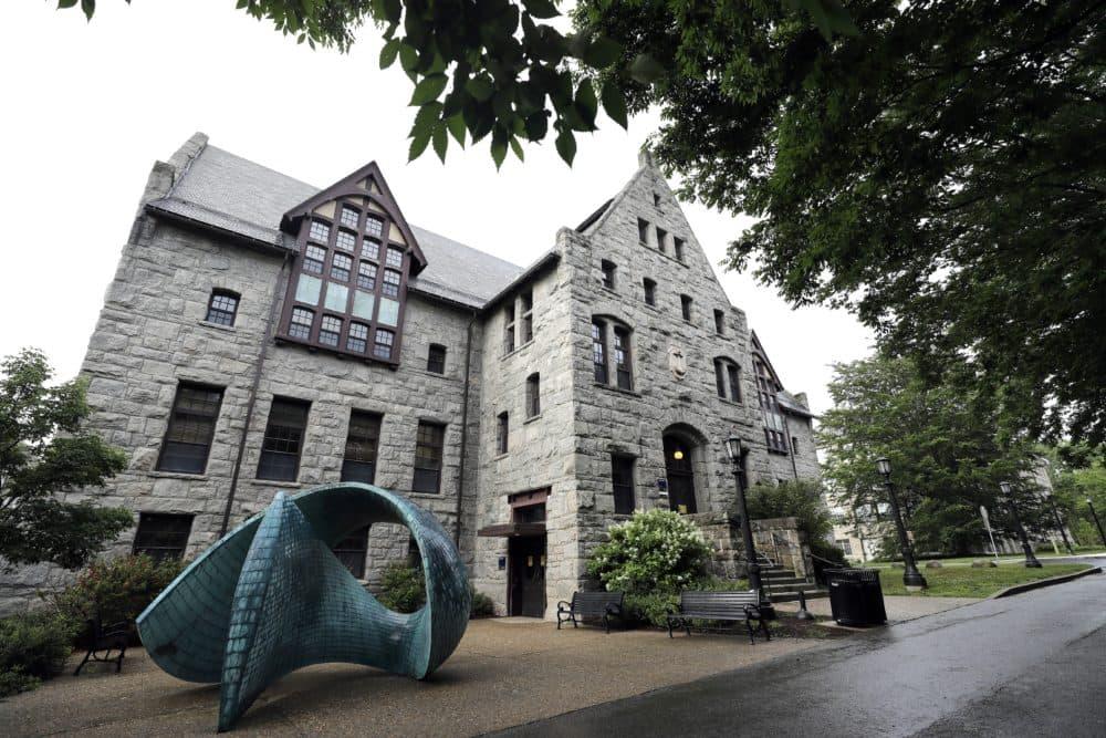 A campus scene of the University of Rhode Island, in South Kingstown, R.I., Wednesday, July 1, 2020. (Steven Senne/AP)