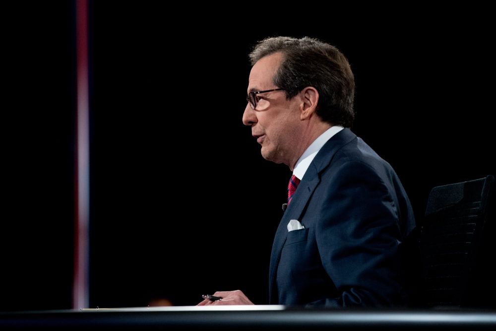 He Wasn T Afraid How Chris Wallace S Start In Boston Foreshadowed His Future As Presidential Debate Moderator Wbur News