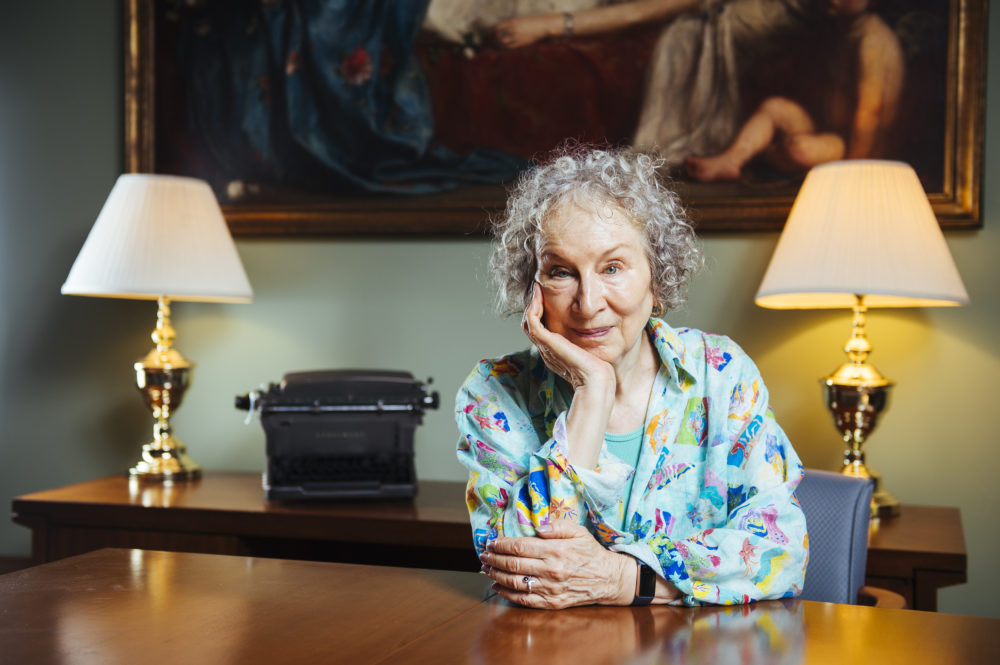 Author Margaret Atwood. (Arthur Mola/Invision/AP)