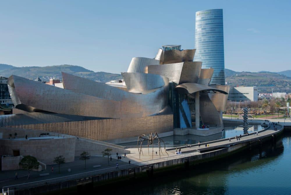 Guggenheim Bilbao Museum in the Spanish Basque city of Bilbao. (Ander Gillenea/AFP/Getty Images)