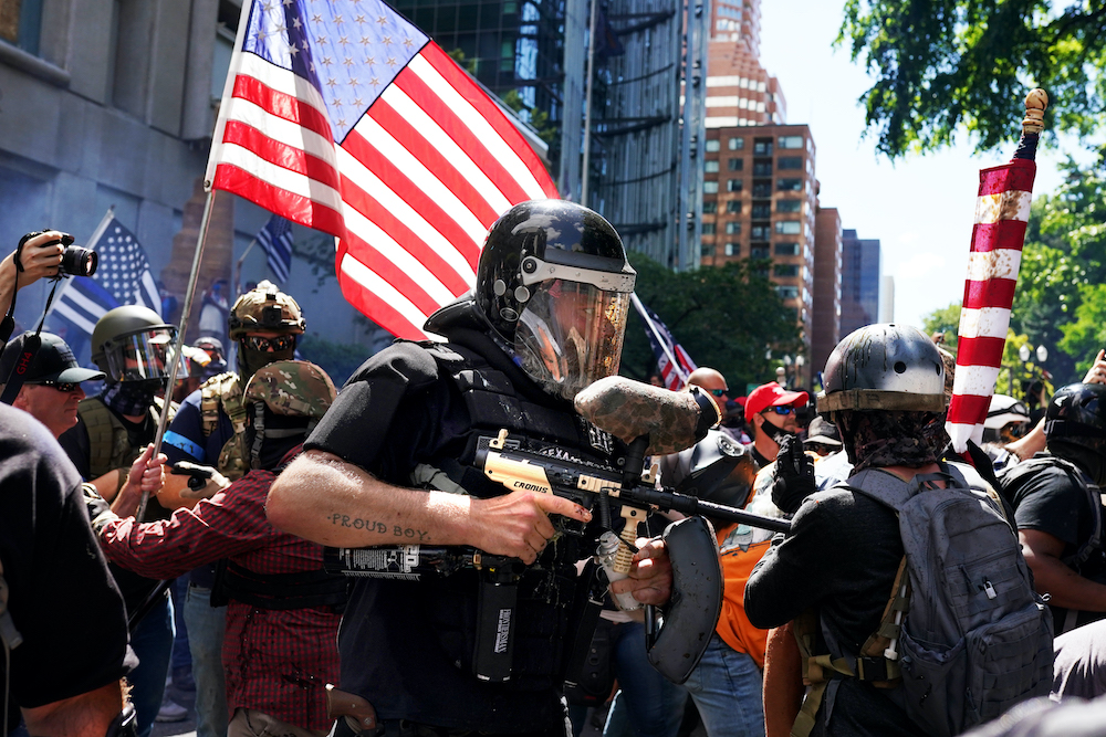 What's The Connection Between Civilian Militias And The Police? | On Point
