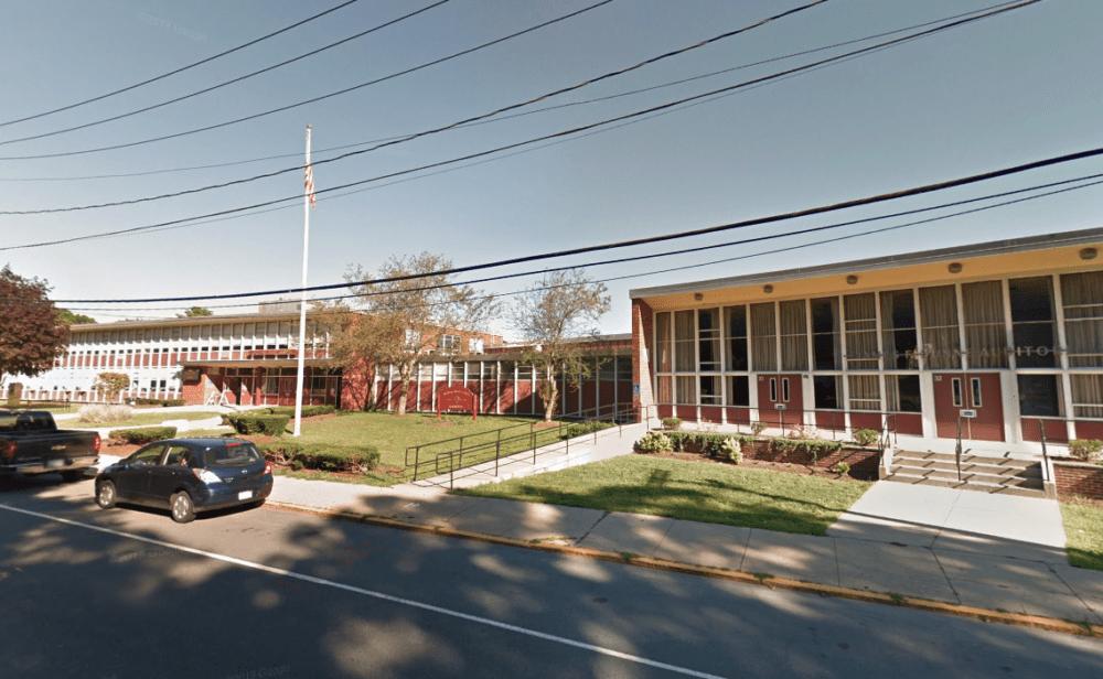 Dedham High School. (Screenshot via Google Maps)