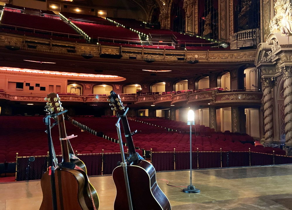 The Boch Center's new Ghost Light Series gives musicians a chance to perform before an empty theater while capacity limits, distancing requirements and the state's phased reopening plan mean many live performances — and the jobs supported by the live events industry — remain on an indefinite pause. (Courtesy Boch Center)
