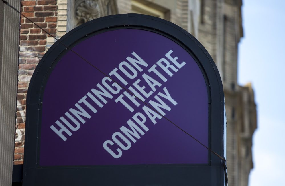 The Huntington Theatre in Boston. (Jesse Costa/WBUR)