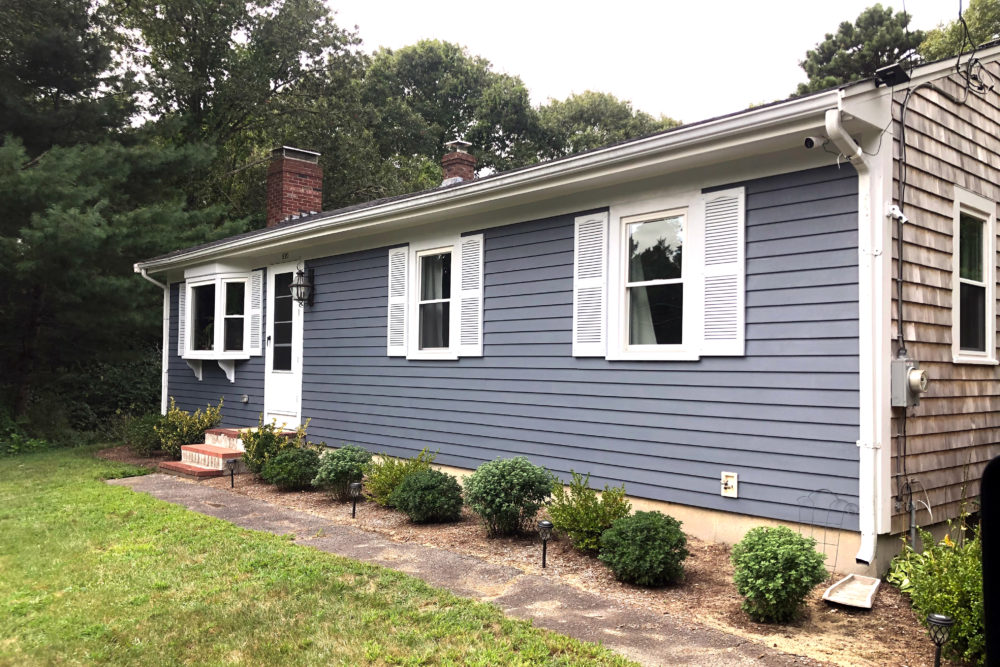 After months of searching, Jennifer Brogan managed to lock down a two-bedroom house in Centerville, but ended up going $30,000 over her budget. (Courtesy Jennifer Brogan)