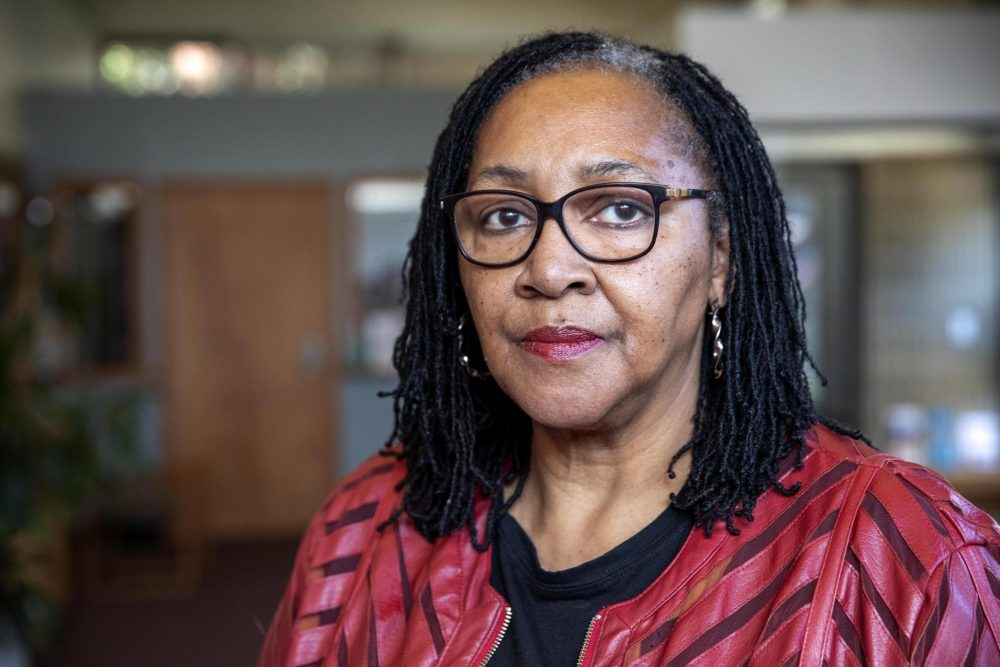 Priscilla Flint-Banks' mother died from COVID-19. (Robin Lubbock/WBUR)