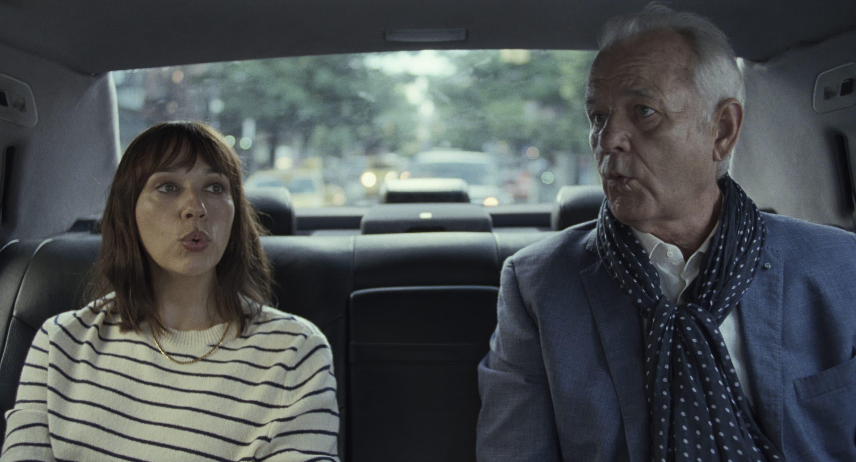 "Rashida Jones and Bill Murray in ""On the Rocks."" (Courtesy Apple)"