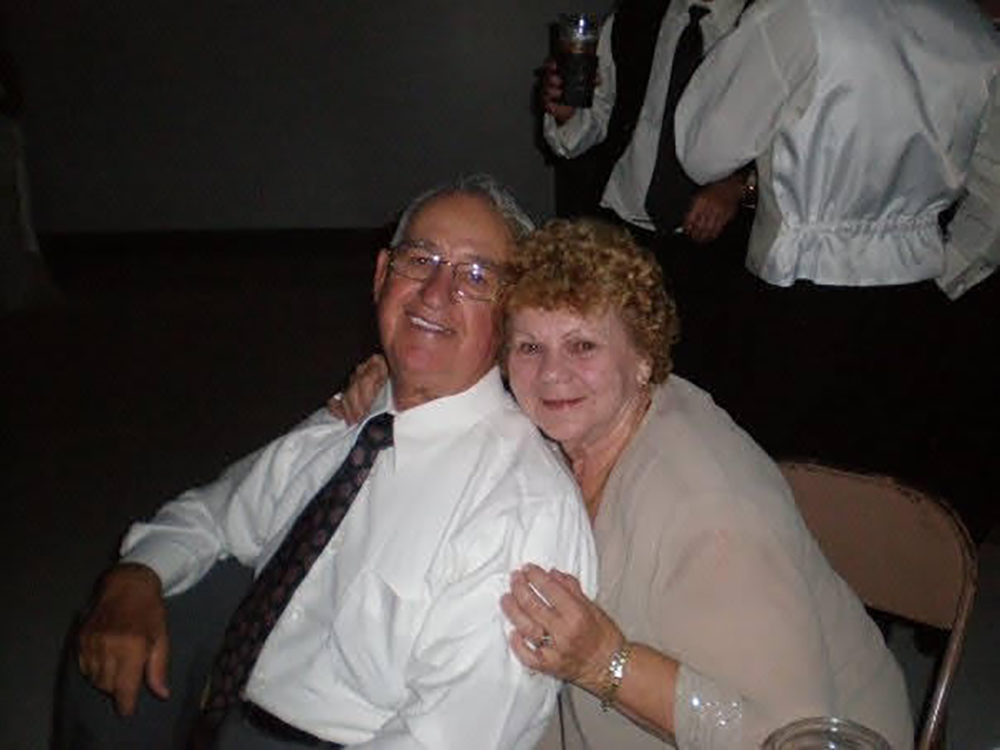 "Everett ""Boone"" Pike died from COVID-19 in September.  His wife Shirley survived. (Courtesy of Denise Price)"