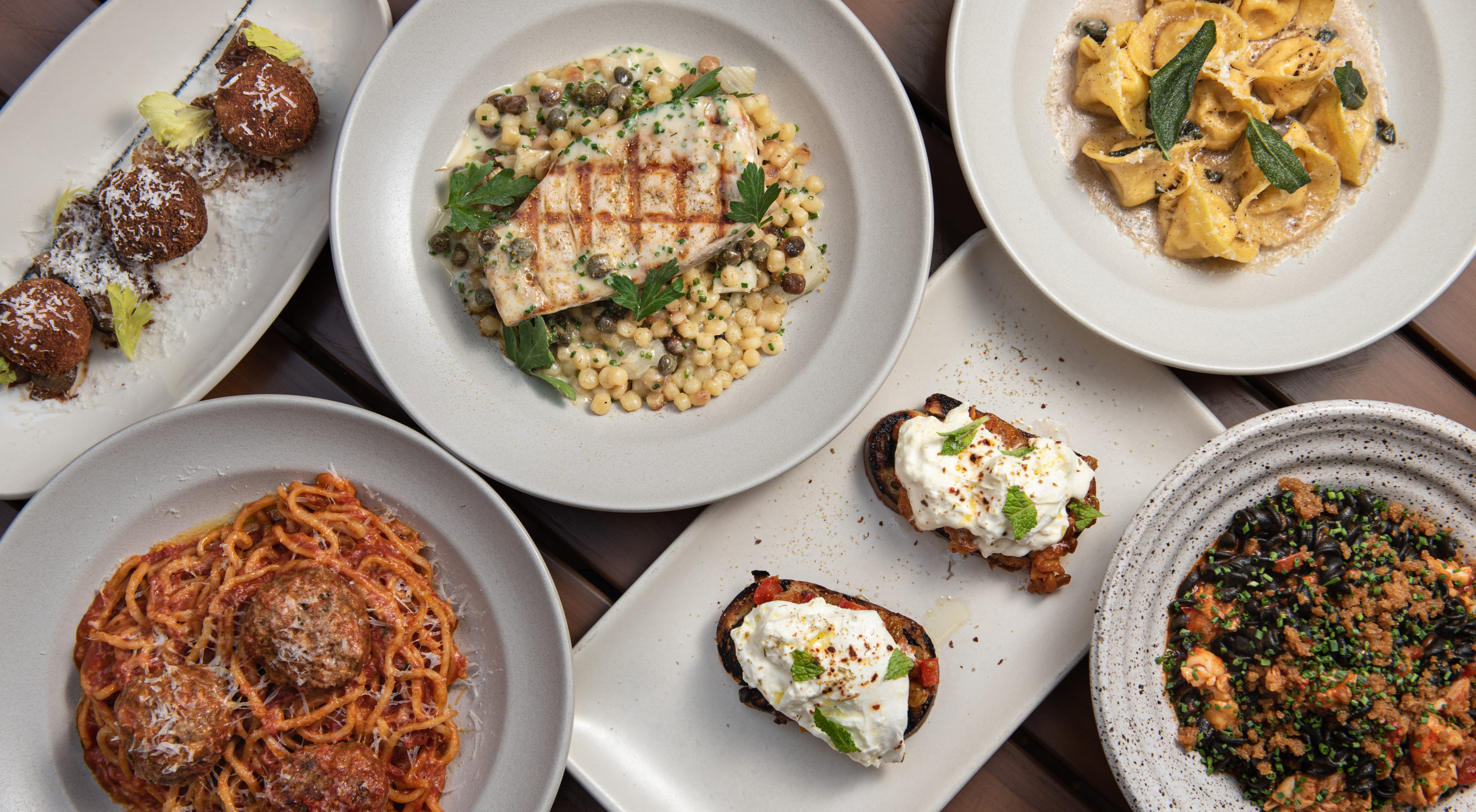 Capalbo's pop-up at Bambara Kitchen & Bar focuses on Italian-American cuisine. (Courtesy Peter Holmgren)