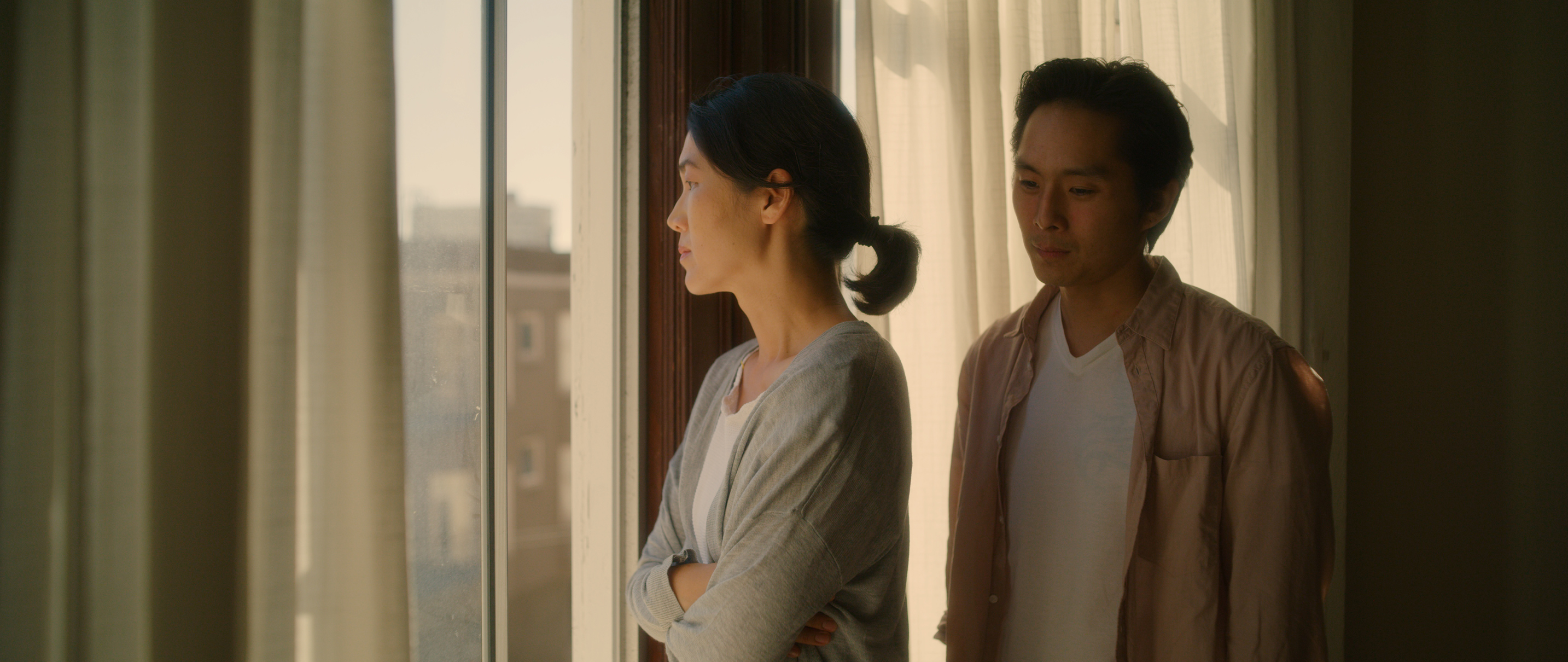 "A still from Wayne Wang's film ""Coming Home Again."" (Courtesy Outsider Pictures)"
