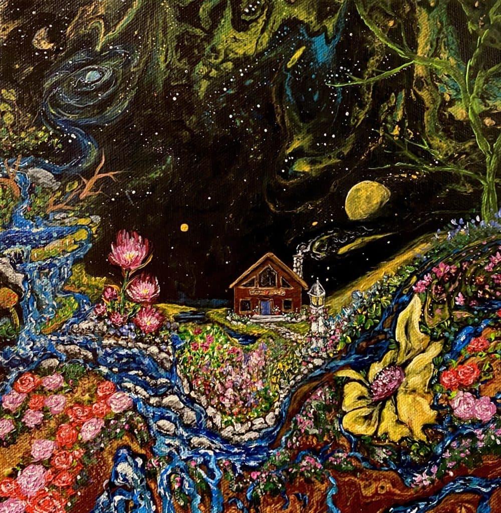"""Garden Space Cabin"" by Amanda Fairbanks"