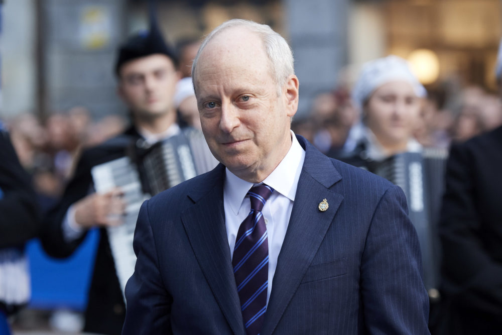 Michael J. Sandel arrives to the 2018 Princess of Asturias Awards Ceremony at the Campoamor Teather on October 19, 2018 in Oviedo, Spain.  (Carlos Alvarez/Getty Images)