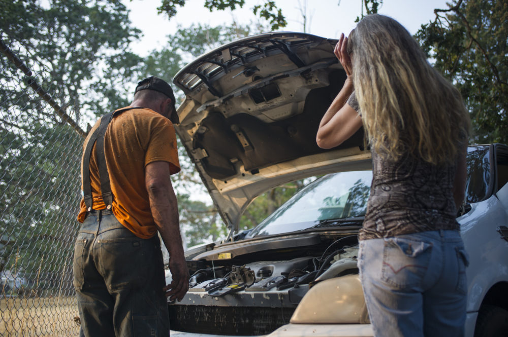 A car mechanic fixing a vehicle. (Kurt Wittman/Education Images/Universal Images Group via Getty Images)