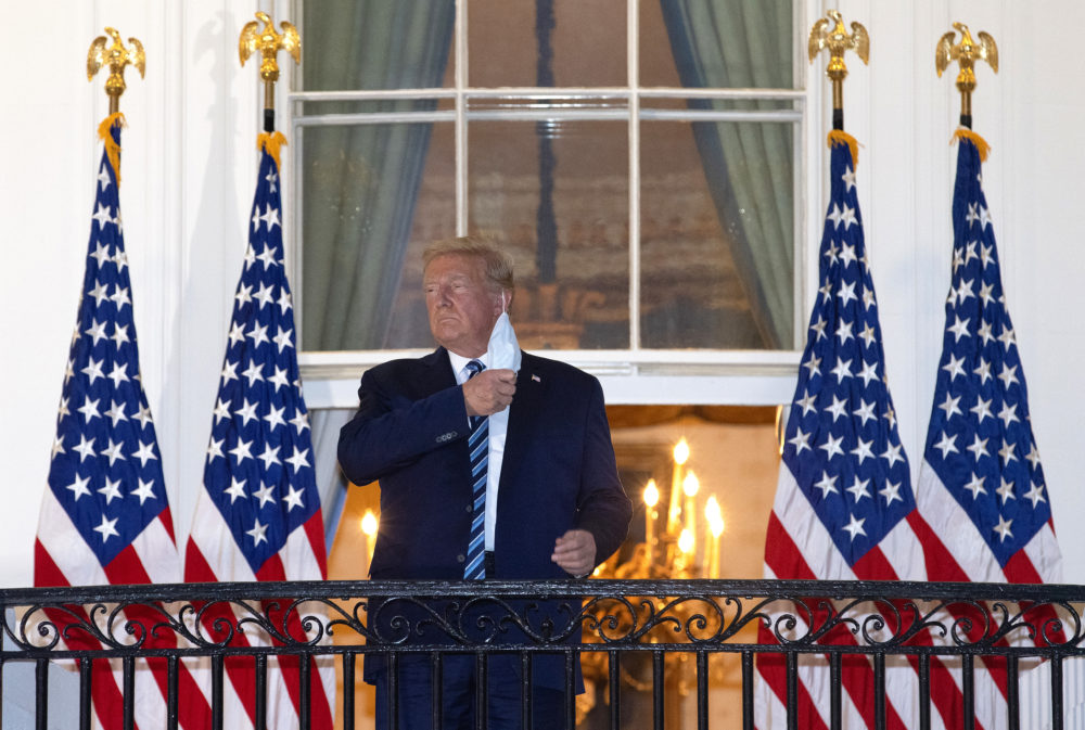 Trumps Return Spend Christmas At White House 2020 A Doctor's Perspective On President Trump's COVID 19 Experience