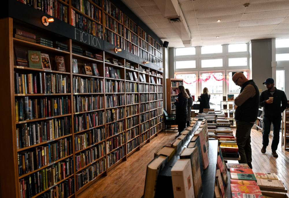 Indy Reads is an independent bookstore, where revenue funds a non-profit that provides free tutoring to promote adult literacy. (Toni L. Sandys/The Washington Post via Getty Images)