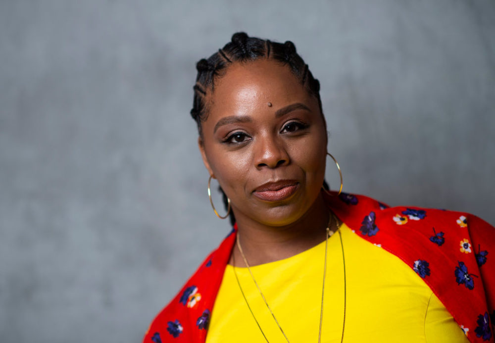 Co-founder of Black Lives Matter Movement Patrisse Cullors attends the United State of Women Summit on May 5, 2018, in Los Angeles, California. (Valerie Macon/AFP/Getty Images)
